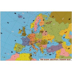 CARTE EUROPE GRAND FORMAT