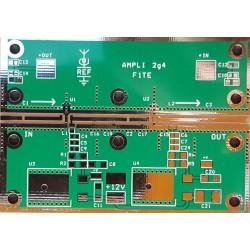 Circuit Imprimé AMPLI 2,4 GHz