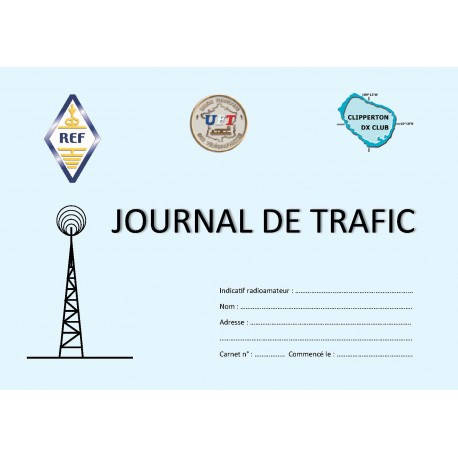 JOURNAL DE TRAFIC GRAND FORMAT