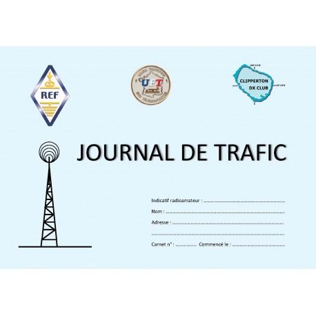 JOURNAL DE TRAFIC PETIT FORMAT