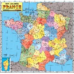 CARTE LOCATOR FRANCE