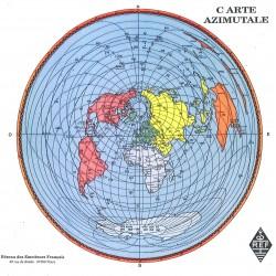 CARTE AZIMUTALE